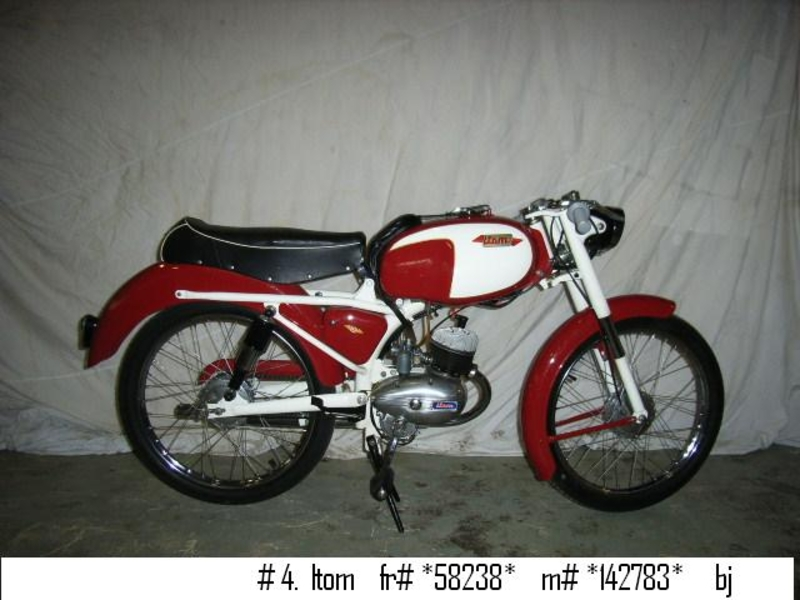 1958 Itom Moped 1 Is Listed For Sale On Classicdigest In De Lier By