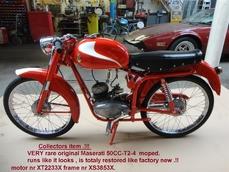 Maserati 50 cc - T2-4 moped 1957