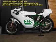 250 cc 2 cil racer 1969