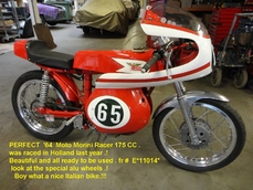 Road Bike Moto Morini