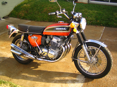 CB 750F2 Sevenfifty 1974