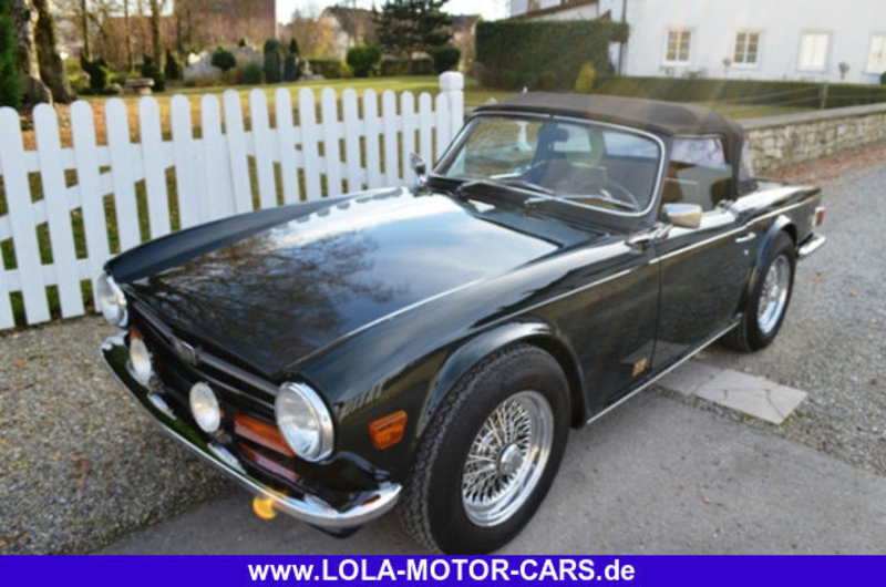 1974 Triumph Tr6 Is Listed Sold On Classicdigest In Adalbert Stifter