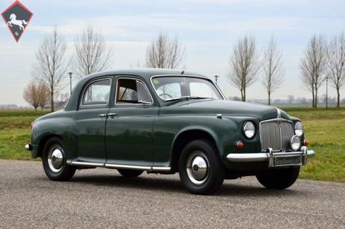 Rover P4 (60/75/80/90/95/100/105/110) 1956