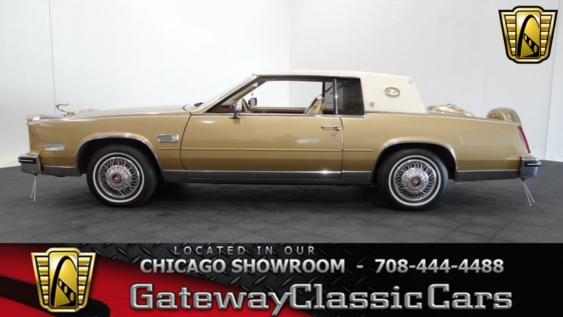 1985 Cadillac Eldorado is listed Sold on ClassicDigest in Tinley