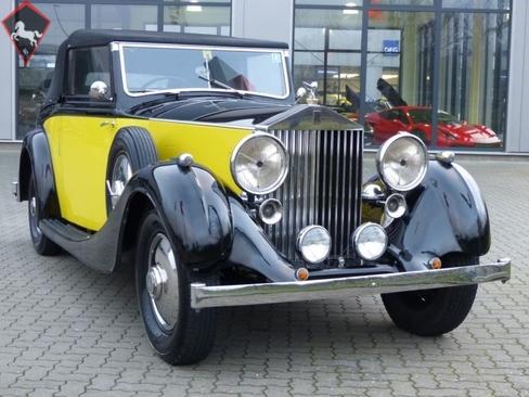 1937 rolls royce 25 30 is listed for sale on classicdigest in lise meitner str 2de 25746 heide. Black Bedroom Furniture Sets. Home Design Ideas