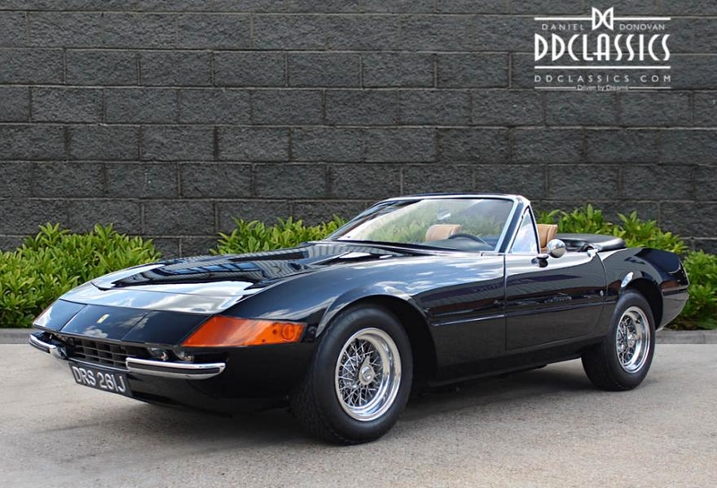 1971 Ferrari 365 Gts 4 Daytona Is Listed Verkauft On Classicdigest In Surrey By Dd Classics For 564950 Classicdigest Com