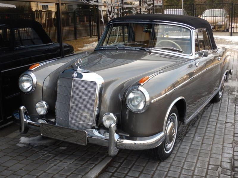 1959 mercedes benz 220s se cabriolet ponton is listed sold. Black Bedroom Furniture Sets. Home Design Ideas