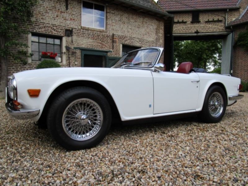 1969 Triumph Tr6 Is Listed Såld On Classicdigest In Engelbamp 27be