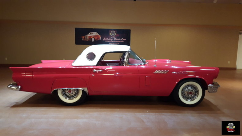 1957 Ford Thunderbird Is Listed For Sale On Classicdigest In Orlando By Just Toys Classic Cars For 47000