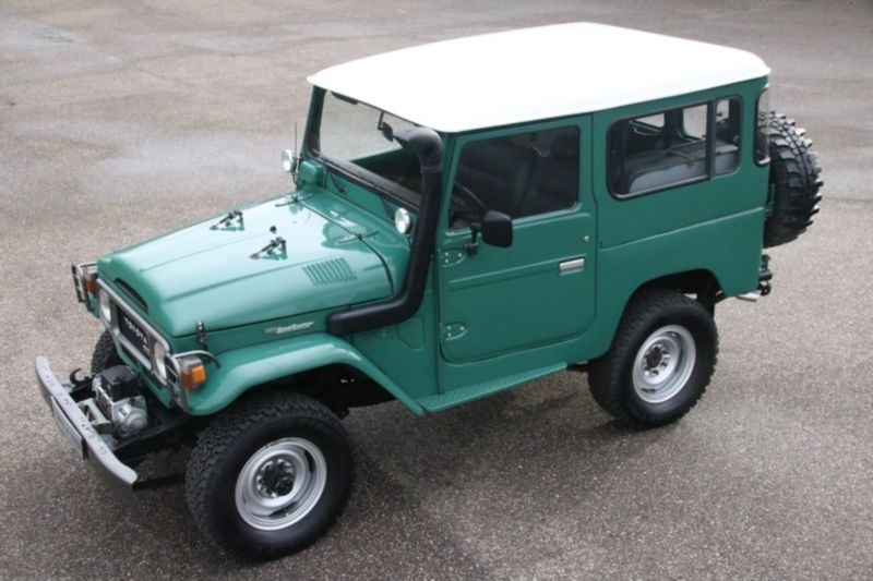 1982 toyota land cruiser is listed sold on classicdigest. Black Bedroom Furniture Sets. Home Design Ideas