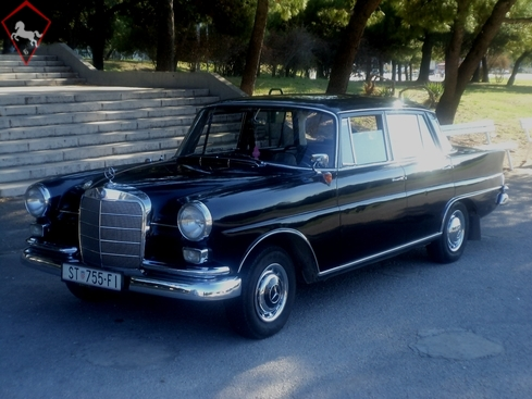 Mercedes-Benz 190 w110 Fena 1963