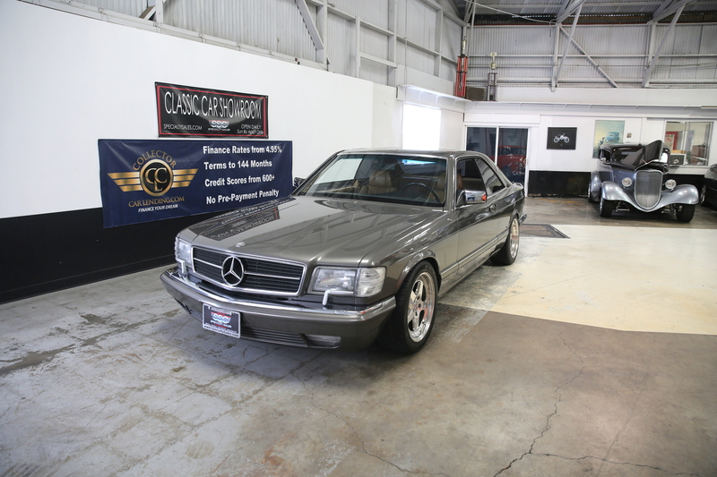 1987 Mercedes-Benz 560 SEC w126 is listed Sold on