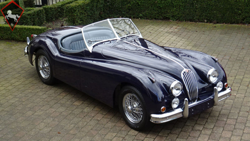 1955 Jaguar XK140 is listed Sold on ClassicDigest in ...