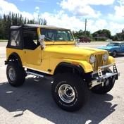 Jeep CJ7 1982