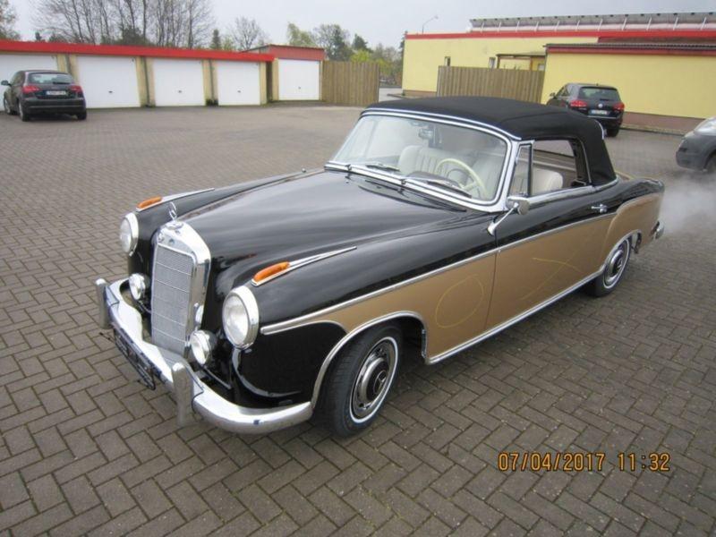 1960 mercedes benz 220s se cabriolet ponton is listed sold. Black Bedroom Furniture Sets. Home Design Ideas