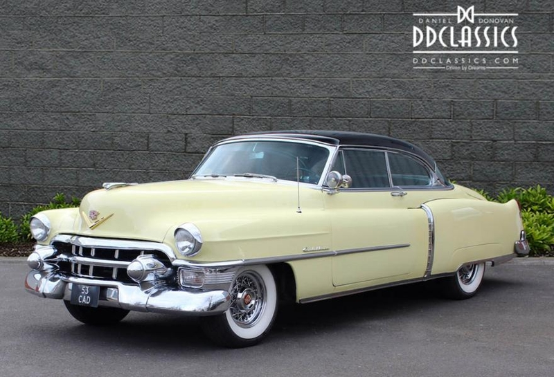 1953 cadillac series 62 is listed verkauft on classicdigest in