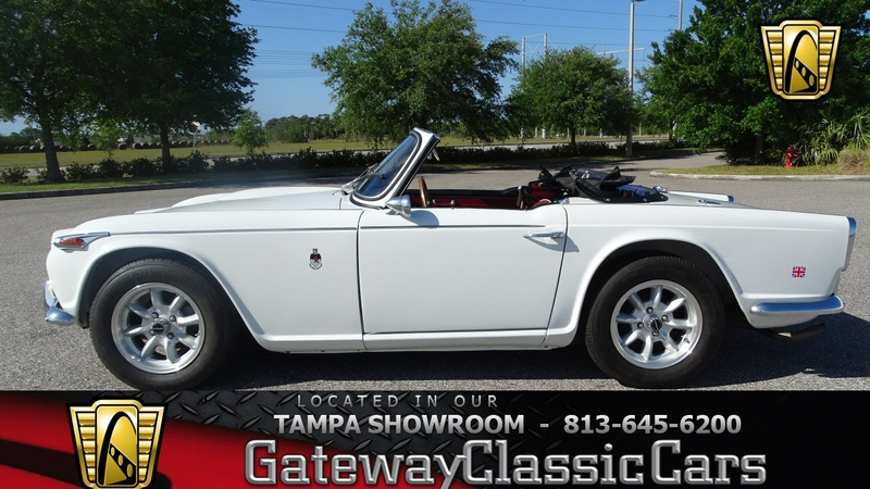 1967 Triumph Tr4 Is Listed Sold On Classicdigest In Ruskin By