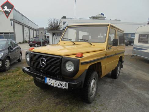 Mercedes-Benz G-Klass 1980