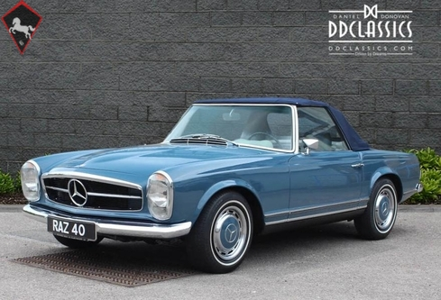 1969 mercedes benz 280sl w113 is listed sold on classicdigest in surrey by dd classics for. Black Bedroom Furniture Sets. Home Design Ideas