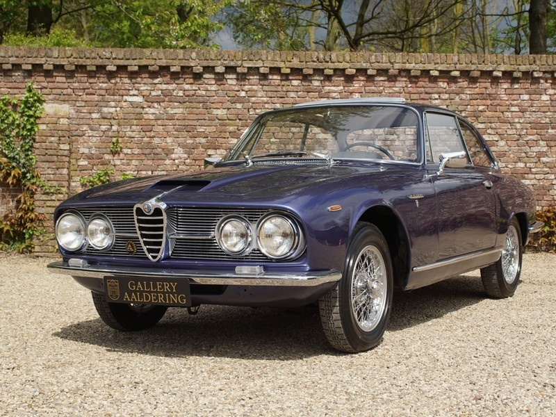 1962 Alfa Romeo 2600 Sprint Is Listed Sold On Classicdigest In