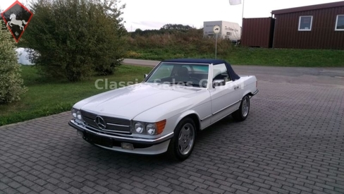 Mercedes-Benz 300SL w107 1986