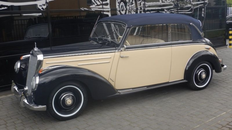 1952 Mercedes Benz 220 W187 Is Listed S 229 Ld On