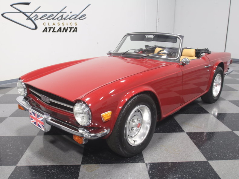 1976 Triumph TR6 is listed Sold on ClassicDigest in Lithia