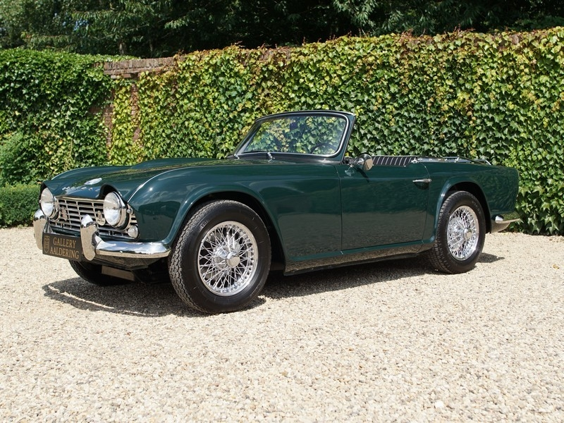 1963 Triumph Tr4 Is Listed Såld On Classicdigest In Brummen By
