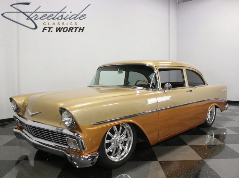 1956 Chevrolet Bel Air is listed Till salu on ClassicDigest in Dallas /  Fort Worth, Texas by Streetside Classics - Dallas/Fort Worth for $109995