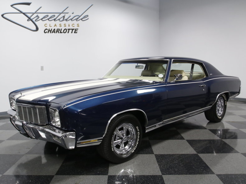 1971 Chevrolet Monte Carlo Is Listed Sold On Classicdigest In Charlotte By Streetside Classics For 32995 Classicdigest Com