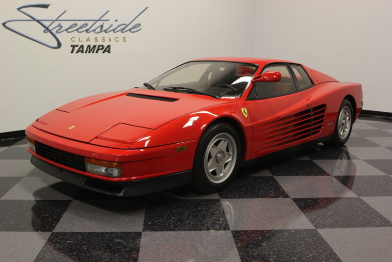 1986 Ferrari Testarossa Is Listed Sold On Classicdigest In Lutz By Streetside Classics For 159995 Classicdigest Com
