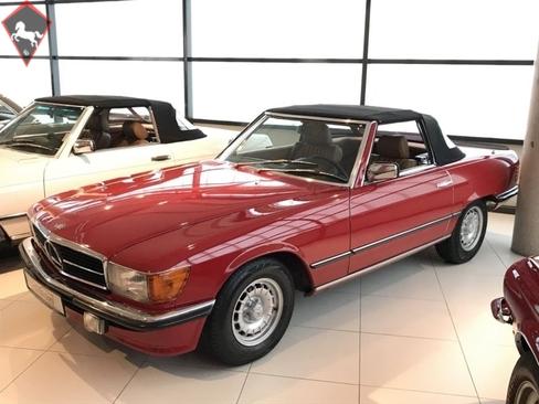 Mercedes-Benz 500SL w107 1984