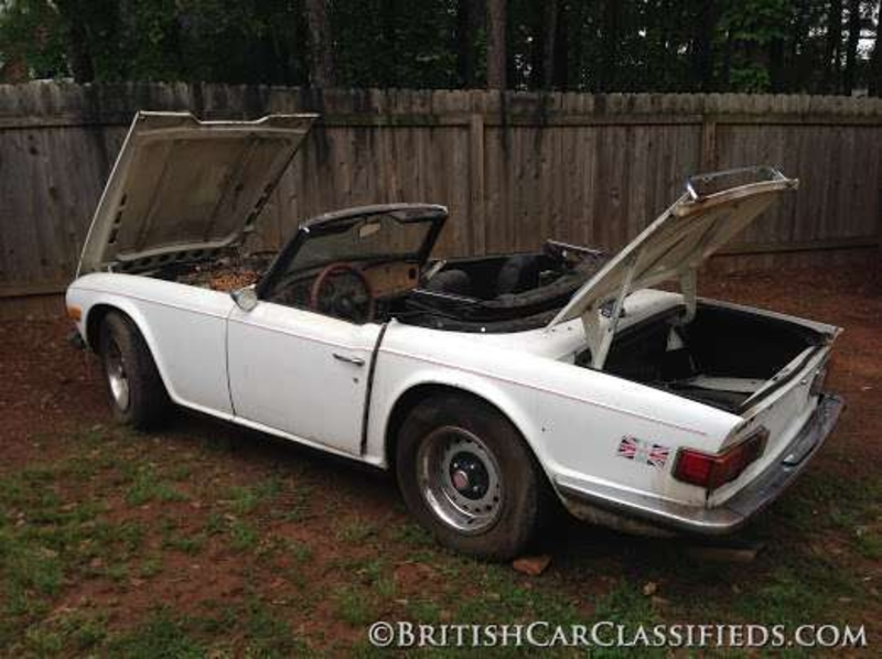 1972 Triumph Tr6 Is Listed For Sale On Classicdigest In Opelika By