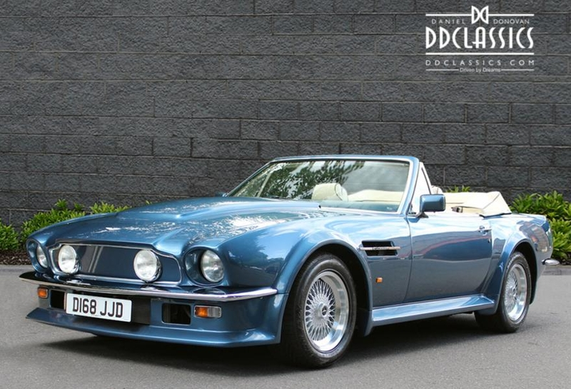 1987 Aston Martin V8 Is Listed Sold On Classicdigest In Surrey By Dd Classics For 349950 Classicdigest Com