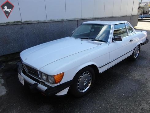 Mercedes-Benz 560SL w107 1984