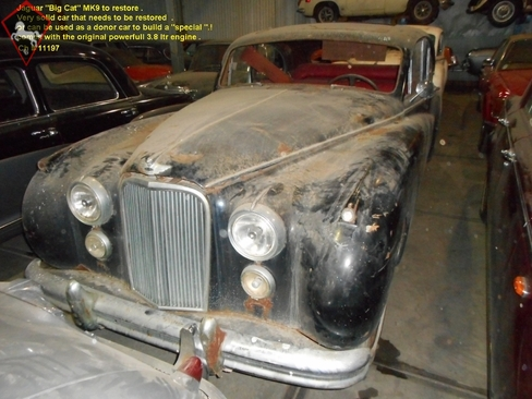 Jaguar MkIX 1955