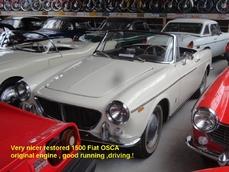 Fiat 1500 Spider Pininfarina 1961