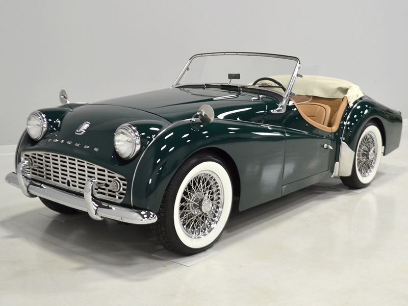 1961 Triumph Tr3 Is Listed Sold On Classicdigest In Macedonia By For