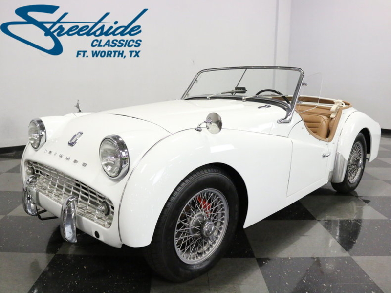 1963 Triumph Tr3 Is Listed Verkauft On Classicdigest In Fort Worth