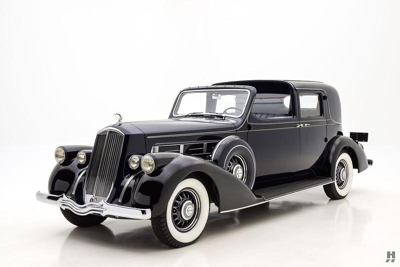 Pierce Race Cars: 1936 Pierce-Arrow Model 6-36 Is Listed Sold On