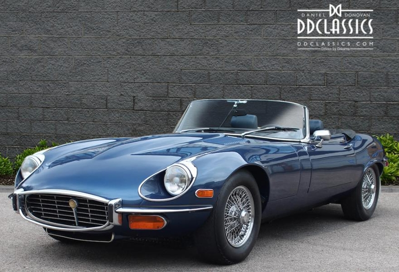 1972 Jaguar E-type XKE is listed Sold on ClassicDigest in Surrey by DD Classics for Not priced ...