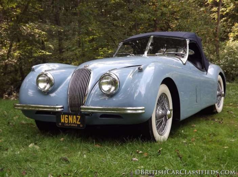 1954 Jaguar XK120 is listed Sold on ClassicDigest in ...