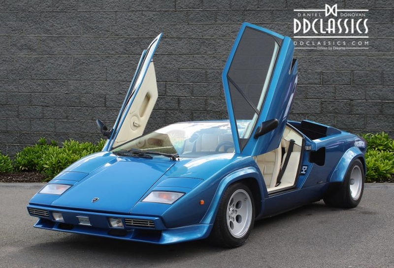 1984 Lamborghini Countach Is Listed Verkauft On Classicdigest In
