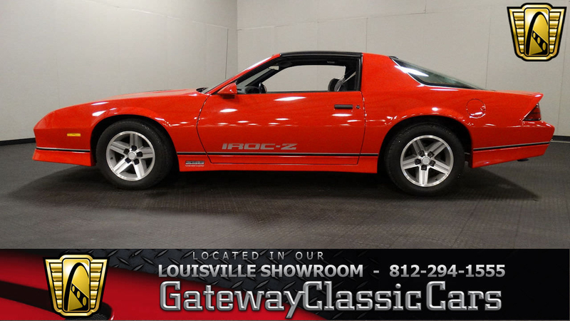 1986 Chevrolet Camaro Is Listed Sold On Classicdigest In