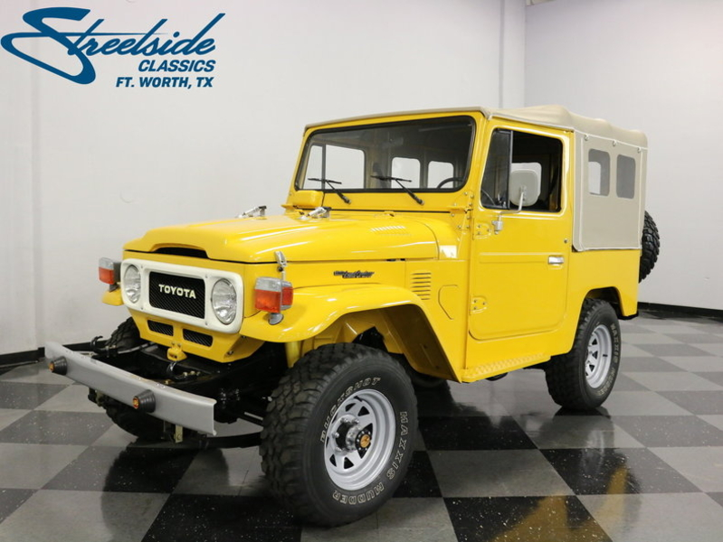 Dallas Toyota Dealers >> 1980 Toyota FJ40 is listed For sale on ClassicDigest in Dallas / Fort Worth, Texas by Streetside ...