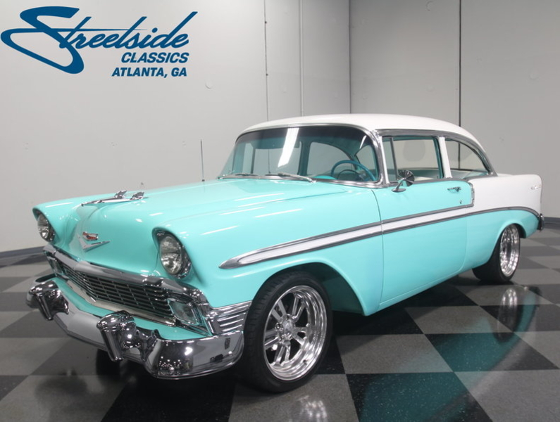 1956 Chevrolet Bel Air Is Listed Verkauft On Classicdigest In Lithia Springs By Streetside Classics For 59995 Classicdigest Com
