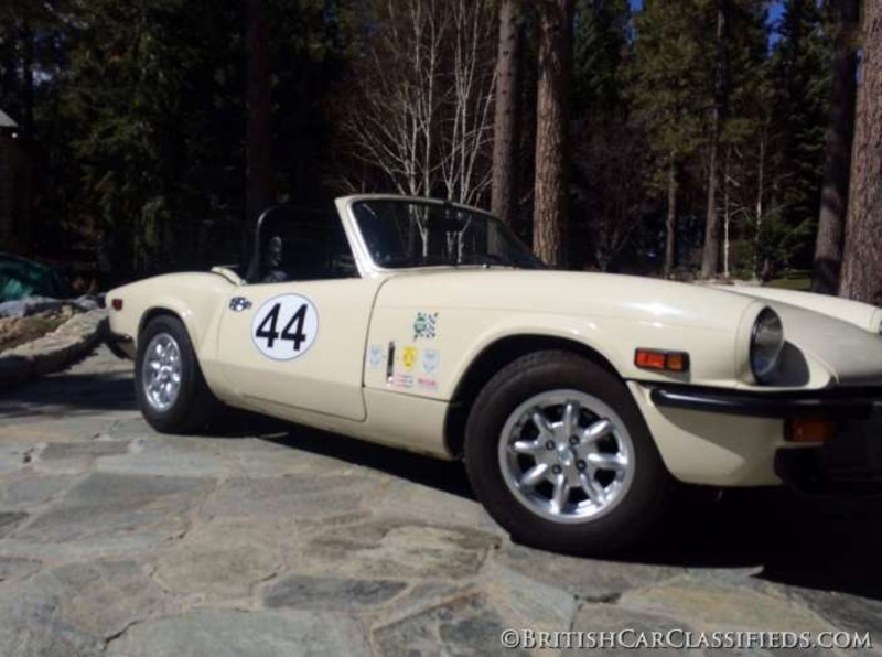 1976 Triumph Spitfire Is Listed For Sale On Classicdigest In Incline