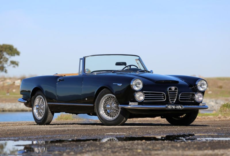 1964 alfa romeo 2600 spider is listed for sale on. Black Bedroom Furniture Sets. Home Design Ideas