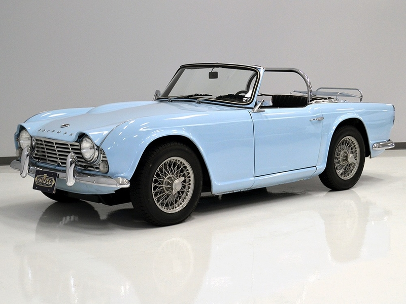 1965 Triumph Tr4 Is Listed Såld On Classicdigest In Macedonia By For