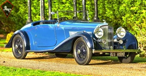 Bentley 4.25 Litre Derby 1937